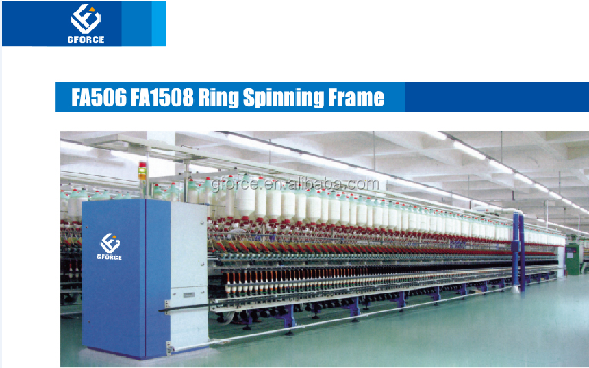 Yarn Spinning Frame/ring Spinning Frame/compact Spinning Machine ...