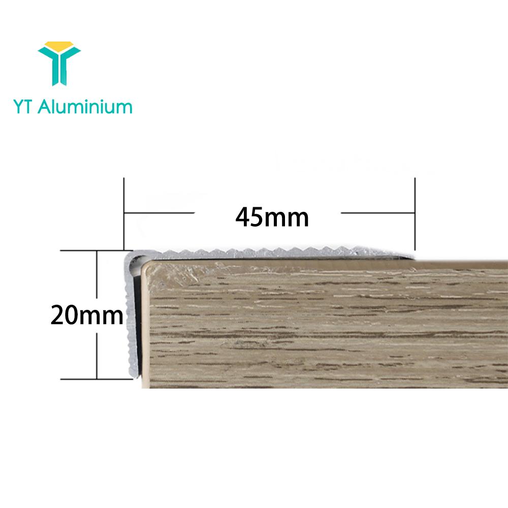 45mm X 20mm Aluminium Stair Treads