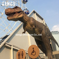 Jurassic theme park high emulation large dinosaur sculptures