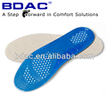 trimmed elastic TPE gel foot cushion sport shoe insoles manufacturer