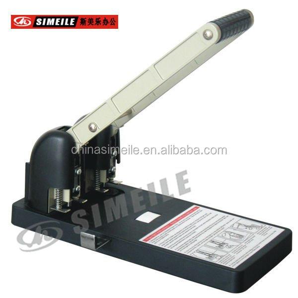 Yt-095 Nieuwe Twee Gaten Metalen Punch Machine Ponskaart Machine Papier Perforator