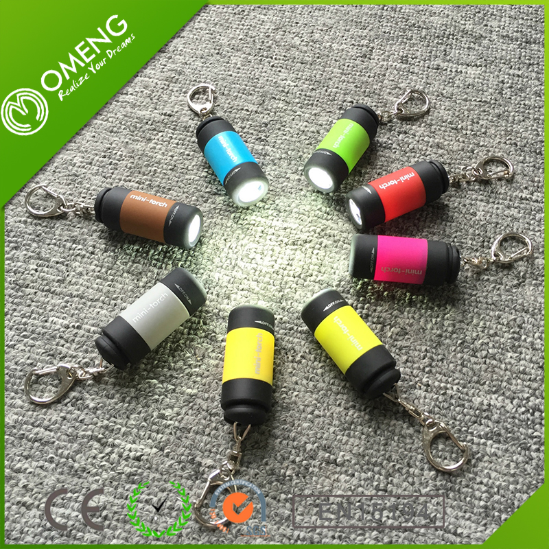 Hot promotional item cheap usb disposable flashlight