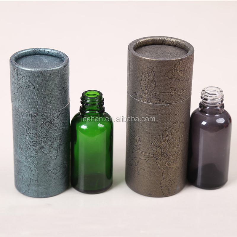 30ml e liquid bottles empty packing box with kraft paper tube manufacturer