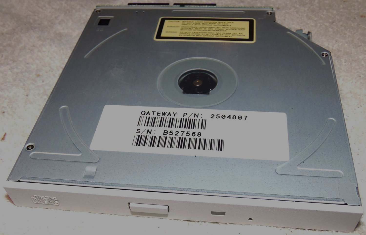 DELL XPS 200 TEAC CD-224E-N WINDOWS 7 64BIT DRIVER