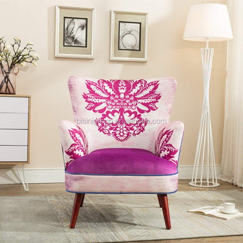 New Arrival Classic French Style Handmade Living Room Pink Floral ...