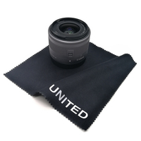 Custom Silk Screen Printed Microfiber Camera Lens Wipes Cleaning Cloth