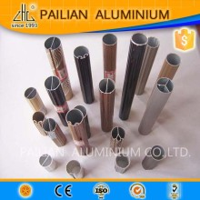 Wow!!Fancy curtain rods and rails,double curtain rods,20mm aluminum round rod China price per ton