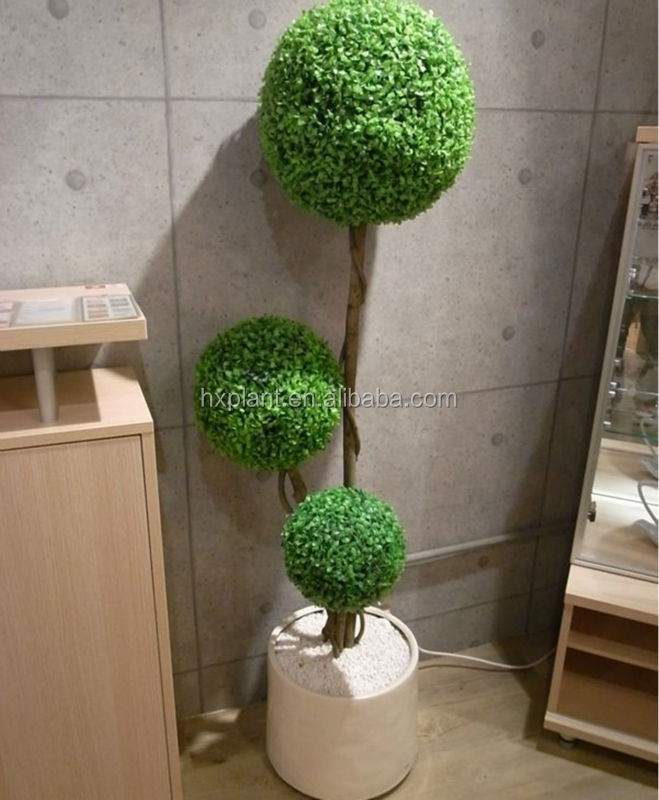 wholesales artificial boxwood spiral indoor artificial trees,spiral Artificial Topiary Trees