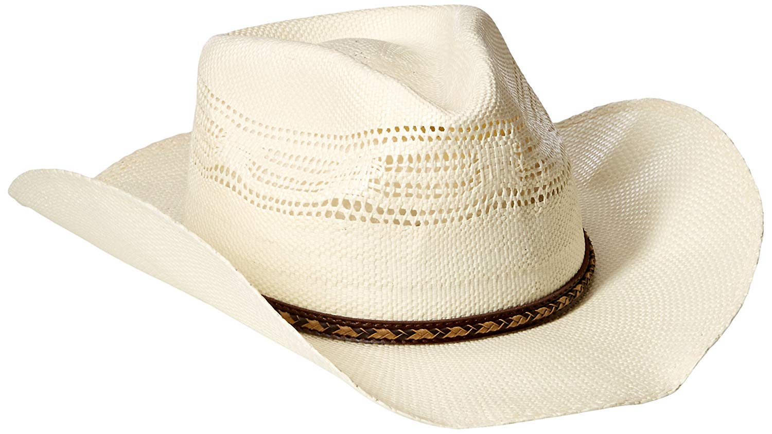 ce1addde3c0ba5 Buy Scala Ranch Mens Tight Pinch Front Bangora Straw Hat in Cheap ...