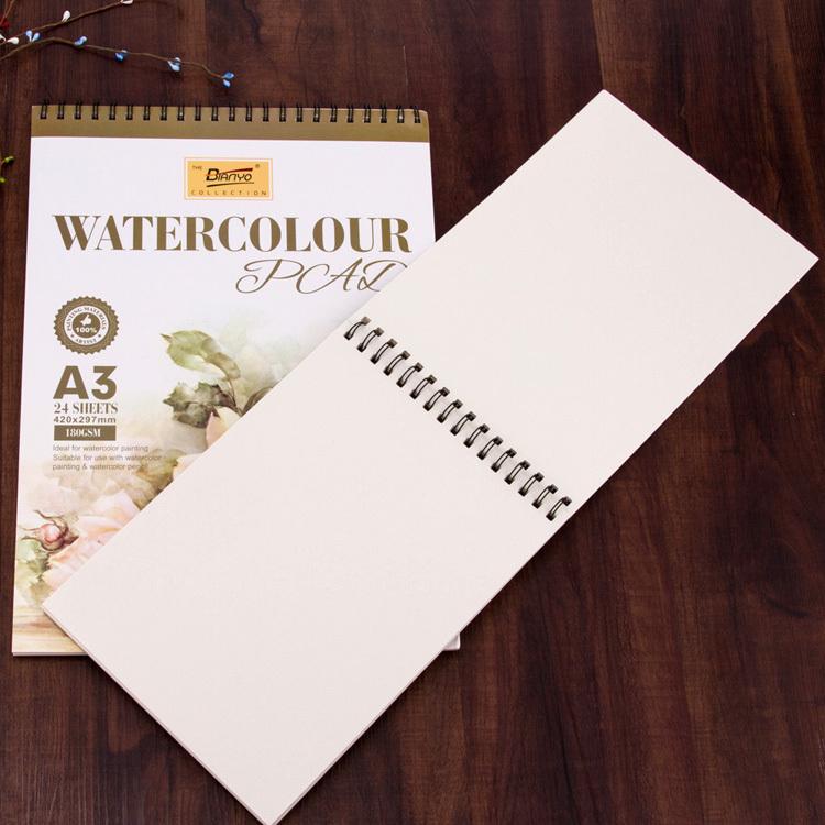 De Alta Calidad 24 Hoja En Blanco Papel De Dibujo Libro Cuaderno De ...