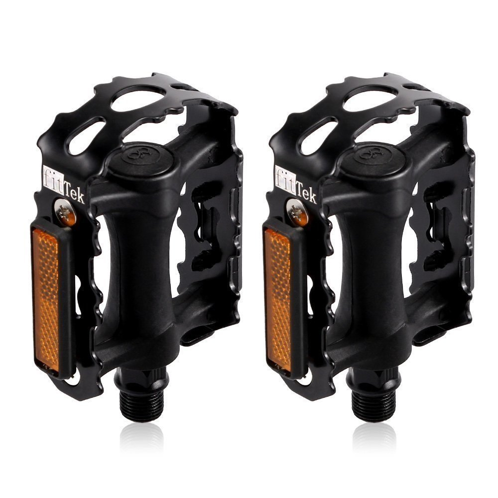 Bike Pedals, Bicycle Pedals fitTek High Performance Pedals for Bikes
