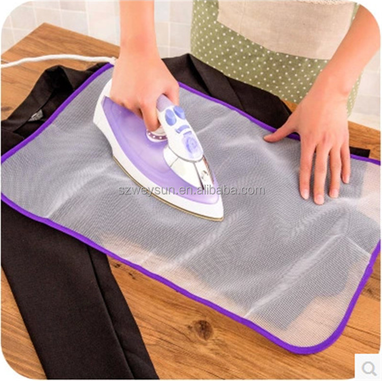 Protective Press Mesh <strong>Ironing</strong> Cloth Guard Protect Delicate Garment Clothes