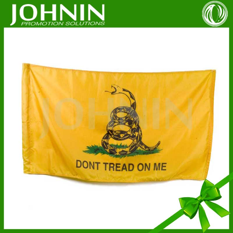 100% polyester flying style wholesale cheap Gadsden state flag