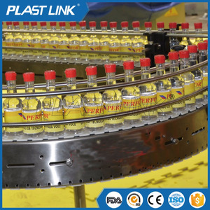 Plast Link high speed conveyor machine for bottles conveying line