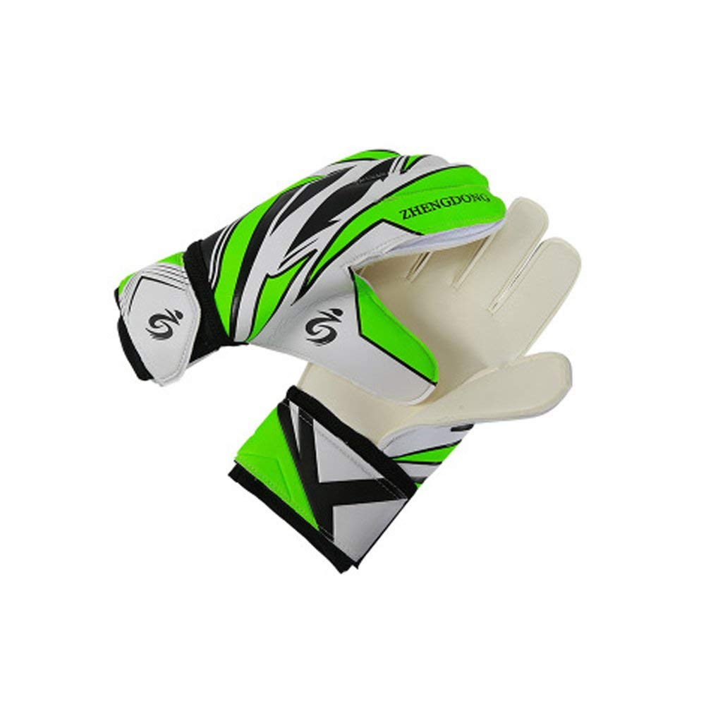 7b8d8e7b4 Get Quotations · DIBIO Unisex Latex Soccer Goalkeeper Gloves,Strong Grip  Finger Protection Football Goalies Gloves for Woman