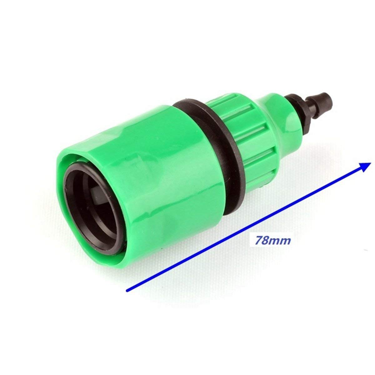 Tacoli- Garden Tap Quick Connector-3pcs 8/11mm Or 4/7mm Hose Barbed Quick Connectors Tap Adaptor Coupling Telescopic Joint Garden Drip Irrigation System Fittings