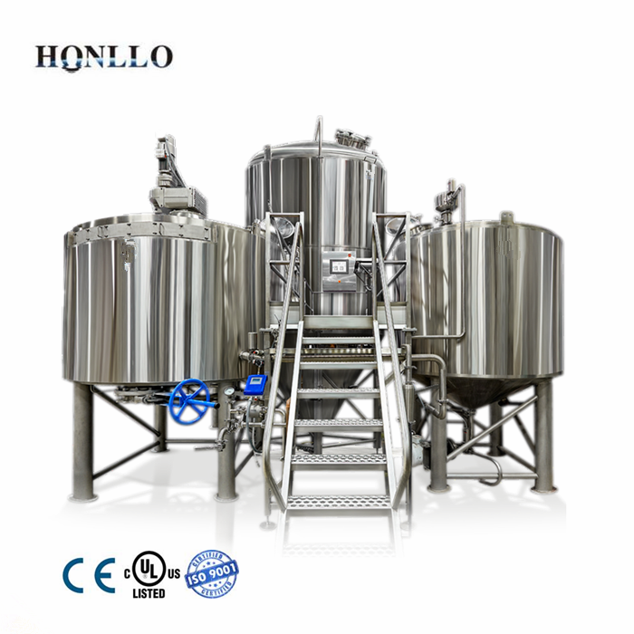 1BBL 2BBL 3BBL boil kettle and whirlpool tank of beer equipment brew house <strong>system</strong>