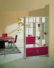 2014 Modern design hall storage cabinet was made from E1 MDF board with painting for living room furniture