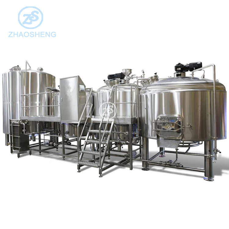 Wholesale beer brewing equipment supplies double layers 20 bbl beer fermenter