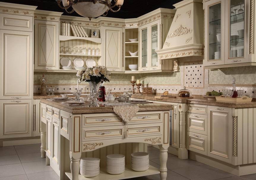American Style Klassische Bewaldeten Küchenschränke Aus China ...