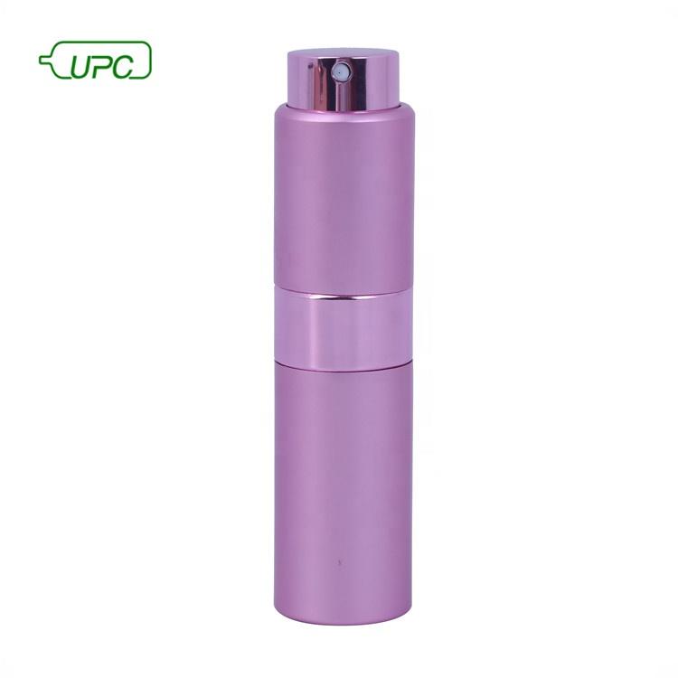 8ml 10ml 15ml 20ml refillable square round perfume bottle perfume atomizer