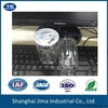 hot filling PET can for beverage, high temperature resistance plastic can 250ml, free samples