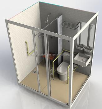 2017 Nuevo Producto Portátil Completo Baño Prefabricado Pod Con Ducha Y Wc  - Buy Cápsula De Baño,Baño Completo Pod,Cápsula De Baño Prefabricada ...
