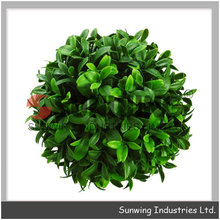 Wholesale flower kissing ball artificial topiary grass ball ...