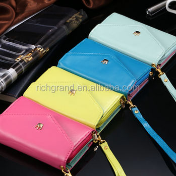 Wallet Case Women Girl PU Leather Pouch Cover for iPhone 4S 5S 5C 6 6S for 97cd637686