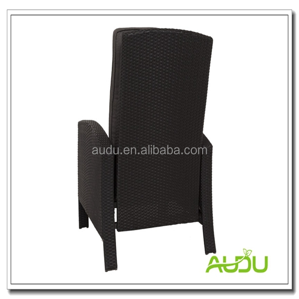 Audu Patio Chair/Large Size Recline Comfortable Patio Chair With Footrest