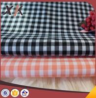 100 cotton fabric yarn dyed plaid stock cotton check poplin shirt fabric shirt