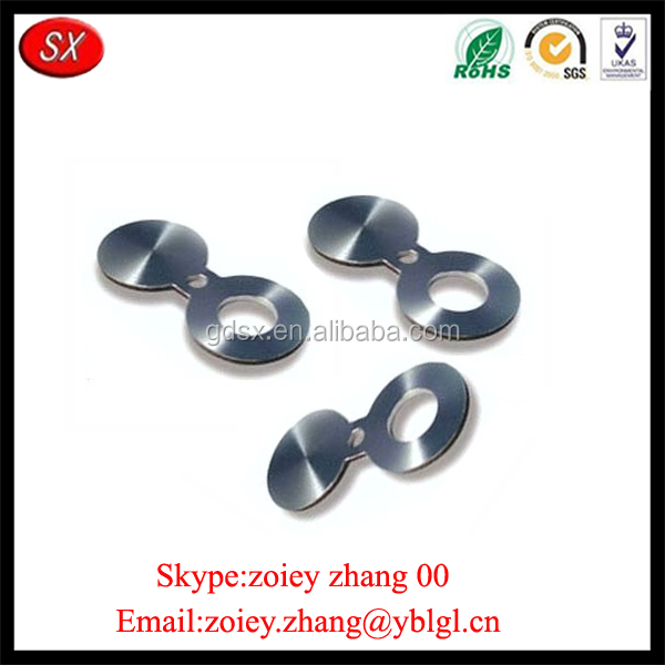 OEM Nonstandard Customized Made Carbon Steel Blind Spectacle Spacer Spade Flange