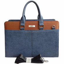 2016 new model business briefcase for man pu Leather Bags Manufacturer Wholesale And Dropship