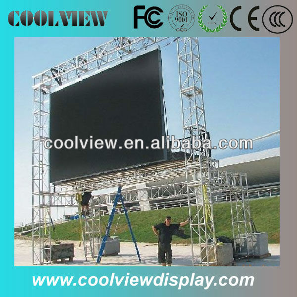 P10 led light display advertising board