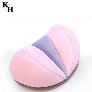 Travel slow rebound memory foam bean neck orthopedic pillow