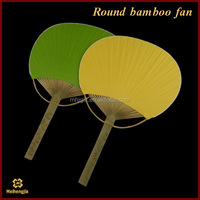 Shenzhen manufactory high technology blank japanese handmade hand round fan