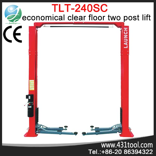 Supply hot sale car lift original LAUNCH TLT240SC VEHICLE 4 TON 2 POST LIFT