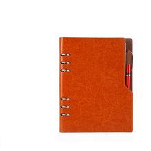 Записная книжка A5 B5, кожаный журнал, еженедельник 2020, спиральная программа, личный дневник, папка, карманный органайзер для канцелярских тов...(Китай)