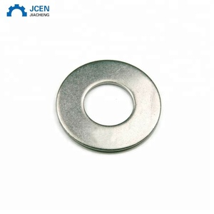 OEM color zinc plated metal flat washer
