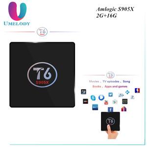 Hot Arabic French Nordic IPTV Royal IPTV 1800 LiveTV and T6 Amlogic S905X  Smart Android 7 1 TV Box 2GB 16GB 4K Set top Box