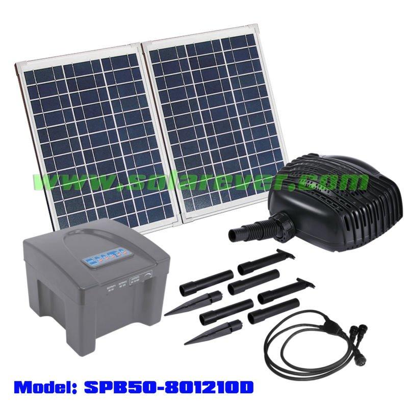 solarpumpe f r wasserfall und teich filtration spb50 801210d sonnenenergiesystem produkt id. Black Bedroom Furniture Sets. Home Design Ideas