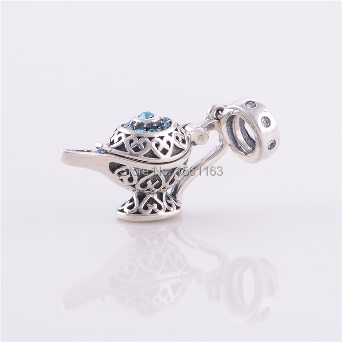 Free Shipping Guaranteed 100% 925 Sterling Silver European Charms Teapot Charms Fit Pandora Bracelets X012