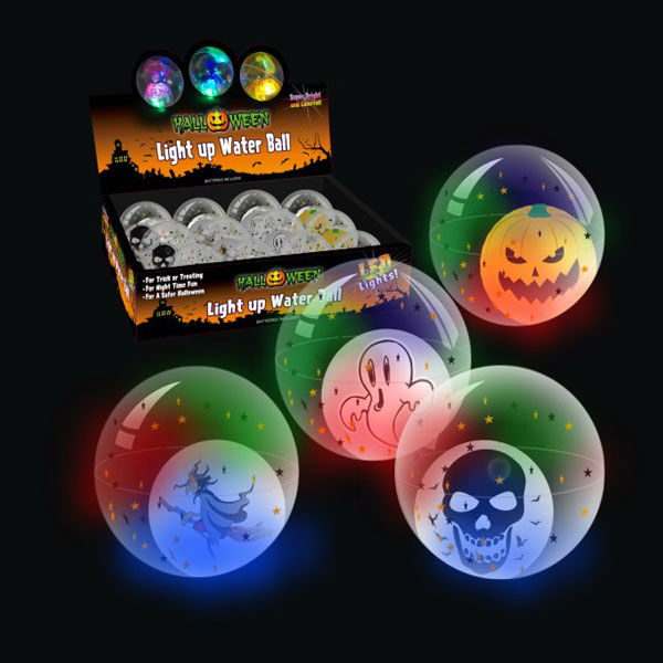 50-100MM DIA colorful Light up 50-100MM DIA HI Bouncing floating water ball(with SKULL)