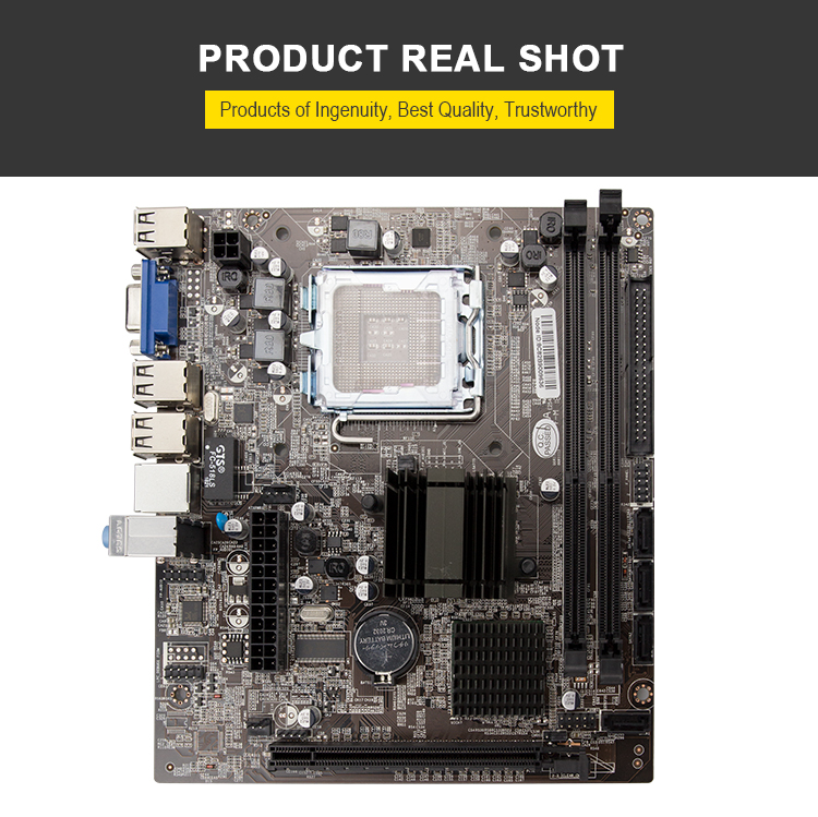 G41 775 socket motherboard new in stock support ddr3 8GB memory/Ram Integrated Graphics great  southern china top manufacturer