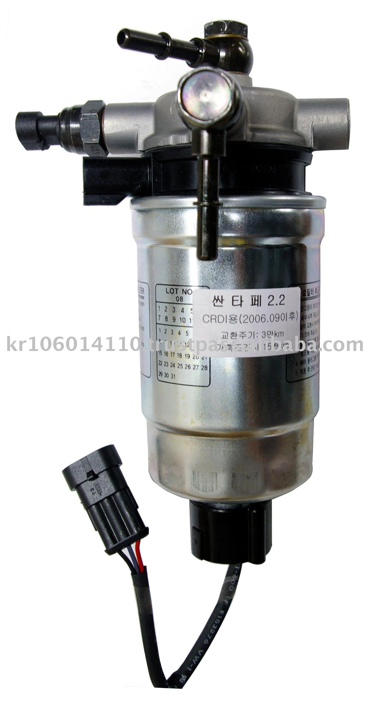 Crdi Fuel Filter(new Santafe 2.2 {hyundai} ) - Buy Car Fuel Filter,Crdi Fuel  Filter,Fuel Filter Product on Alibaba.com