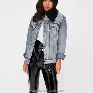 e38fee5bd7ba China fur denim jacket wholesale 🇨🇳 - Alibaba
