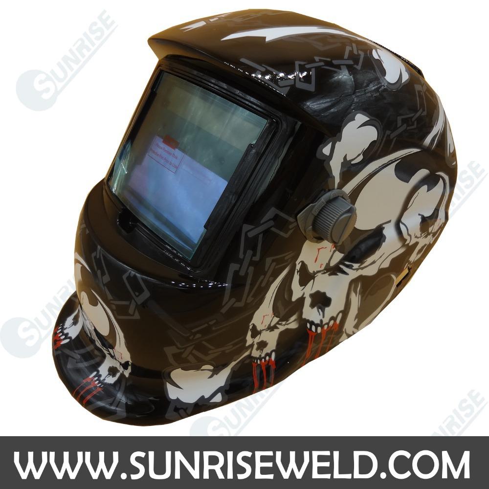 China Sunrise Brand Solar Powered Auto-darkening Welding Helmet ...