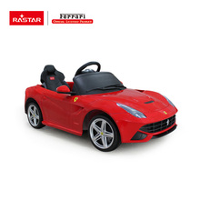 RASTAR Newest Ferrari Licesned 12Volt Electric battery Car kids electric ride on car
