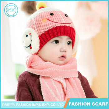 0db265c4b Lovely Baby Girl Boy Knitted Crochet Winter Hats Puppy Dog Beanie ...