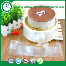 high quality Transparent Mousse Cake Surrounding Edge Wrapping Tape Plastic Side Membrane Cake Decoration Party Supply
